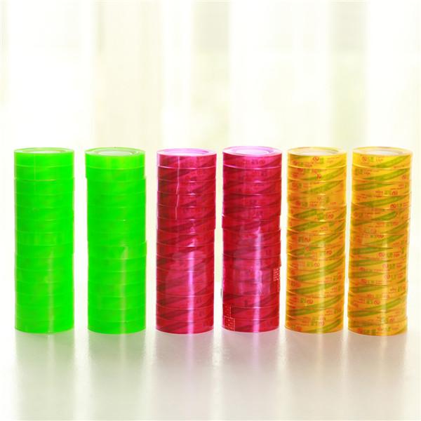 彩色荧光文具胶